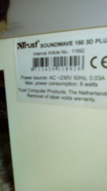 Casse PC coppia Watt 160 - Foto 2