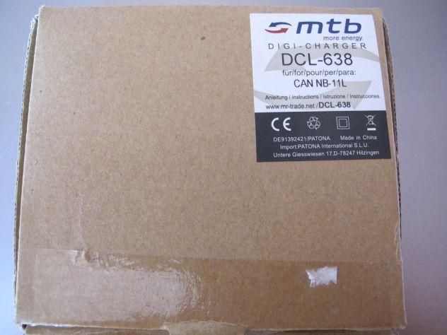 MTB digi-charger  DCL-638 canon NB-11L +2 bat.-Li-ion351 - Foto 10