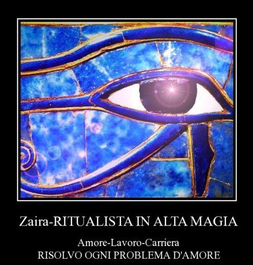 Zaira, Cartomanzia, Consulente Dell 'OCCULTO in ALTA MAGIA, Potenti Rituali …