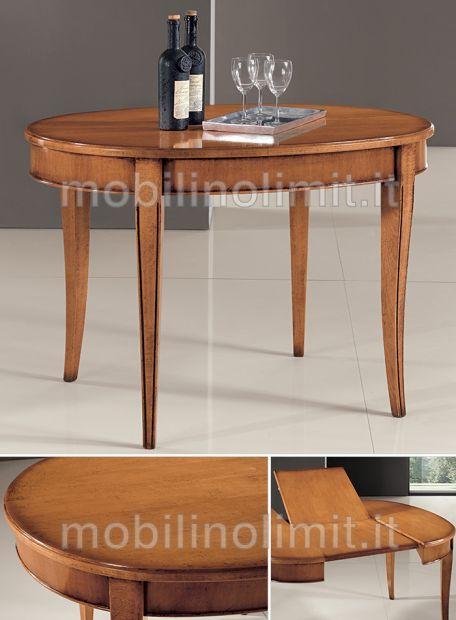 Tavolo Ovale Allungabile - Nuovo