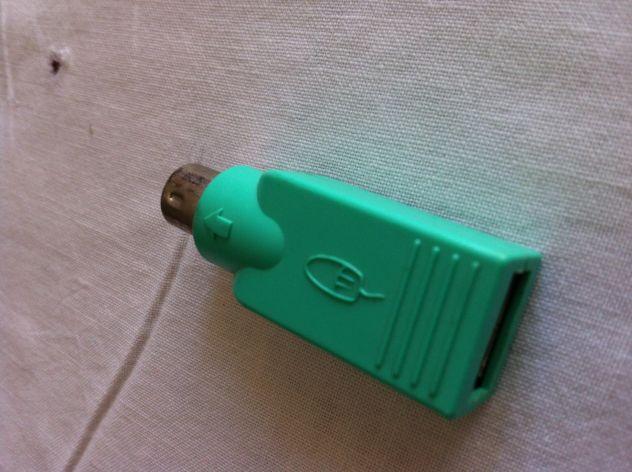 PRETTYGOOD7/convertitore adattatore maschio per PS2/a USB femmina tastiera mouse connettore