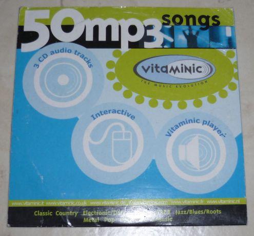 Vitaminic - 50 mp3 songs vol.1 CD originale