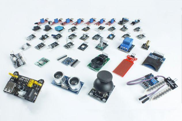 45 in 1 kit di sensori e moduli per Arduino (NUOVO)