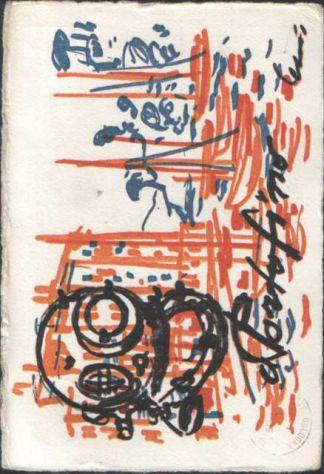 Cartolina dell'american bar Lo Scafandro di Portofino