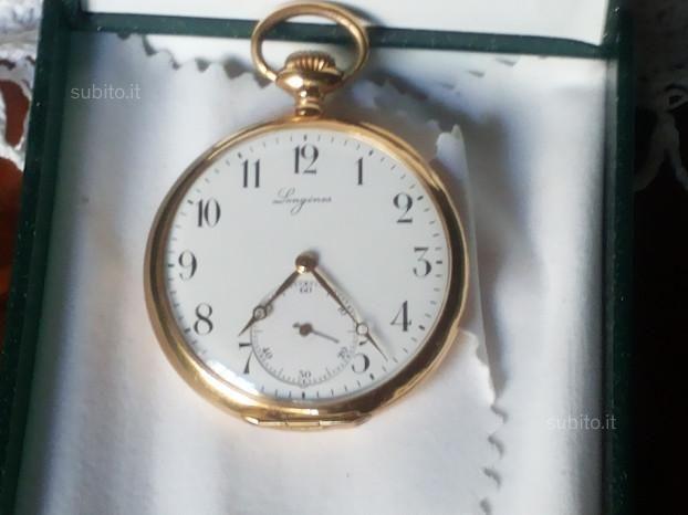 Orologio da tasca LONGINES ORO matr. n.2603395 VINTAGE