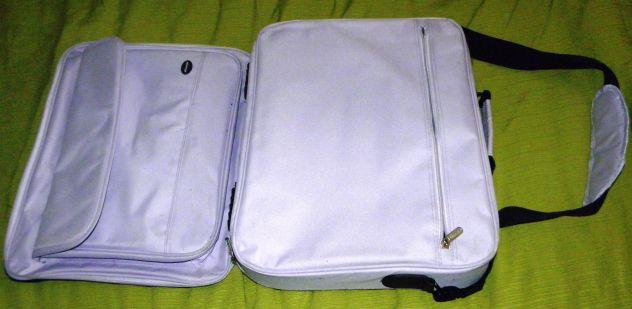 Tracolla per portatile unisex Oliepops lilla e nera - Foto 2