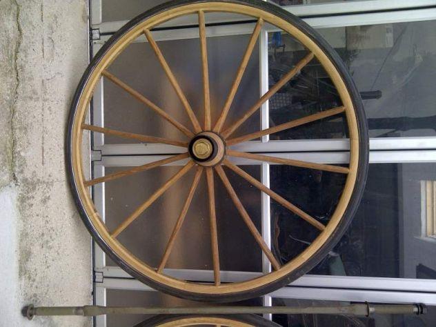 ruota in legno