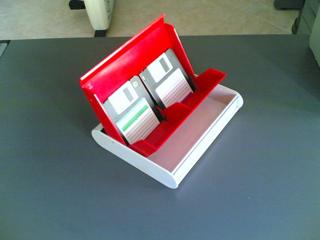 Contenitore per floppy disk