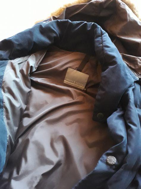 Belfe parka blu con cappuccio staccabile XL Annunci Padova
