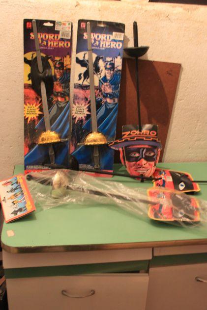 Carnevale Spada zorro vintage Gioplast entra e scegli da collezione
