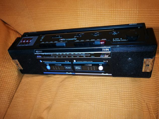 Stereo portatile Irradio anni 80-90,