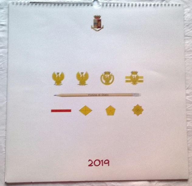 ( G&B ) Calendari: Polizia di Stato 2019