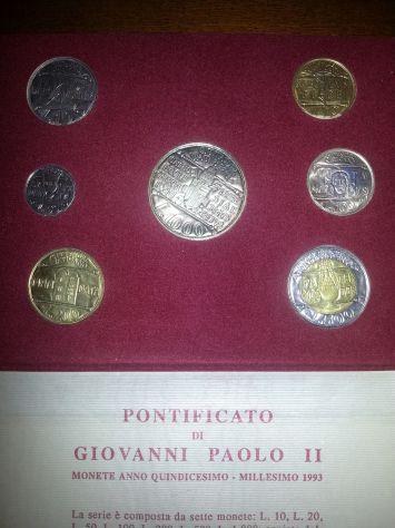 52 MONETE:6 D'ARGENTO MASSICCIO,FIOR DI CONIO,7 SERIE DIVISIONALI,VATICANO E SAN - Foto 9