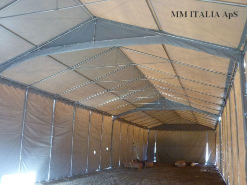 TENDONE TUNNEL PER DEPOSITO RIMESSAGGIO MAGAZZINO 8 X 24 Metri - Foto 3