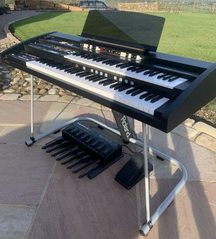 AT-350C Tastiera Organo Roland Atelier Combo