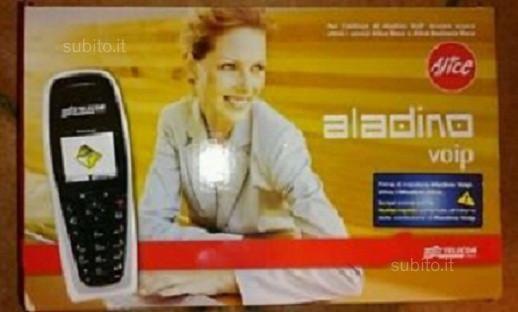 Telefono aladino voip alice