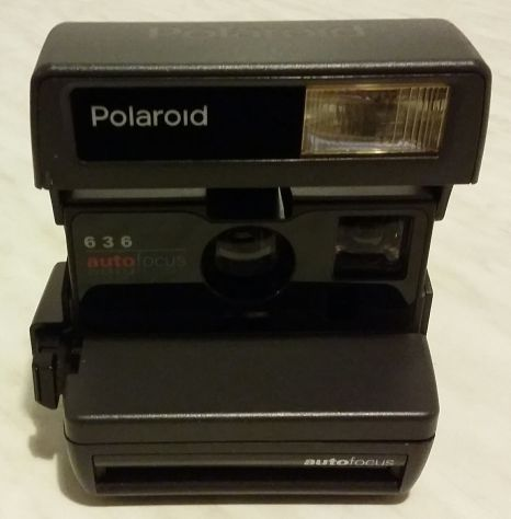 Polaroid 636 Autofocus con tracolla testata nuova