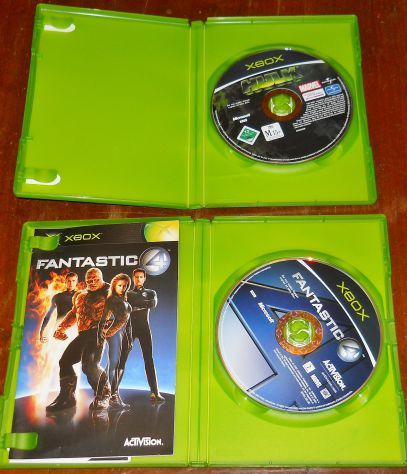 set lotto 4 giochi microsoft xbox sudeki fable hulk fantastic four PAL - Foto 5