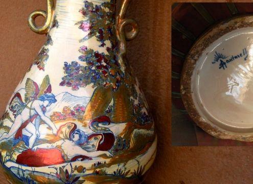 COMPRO OPERE IN CERAMICA O MAIOLICA (piatto vaso statua)