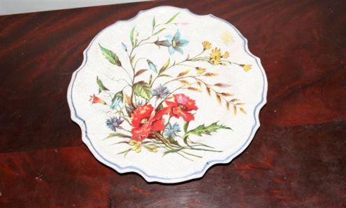 Piatto in Ceramica Pesarese anni 50