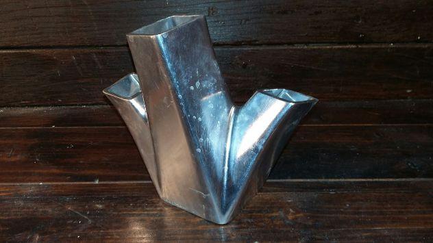 A160 alluminio vecchio portafiori secchi desig