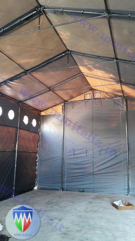 Tendostrutture Professionali Pvc alta densitá 6 x 12 con Velcro e Luce Naturale - Foto 8