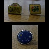 Spille/pins Levi's + Baci Perugina
