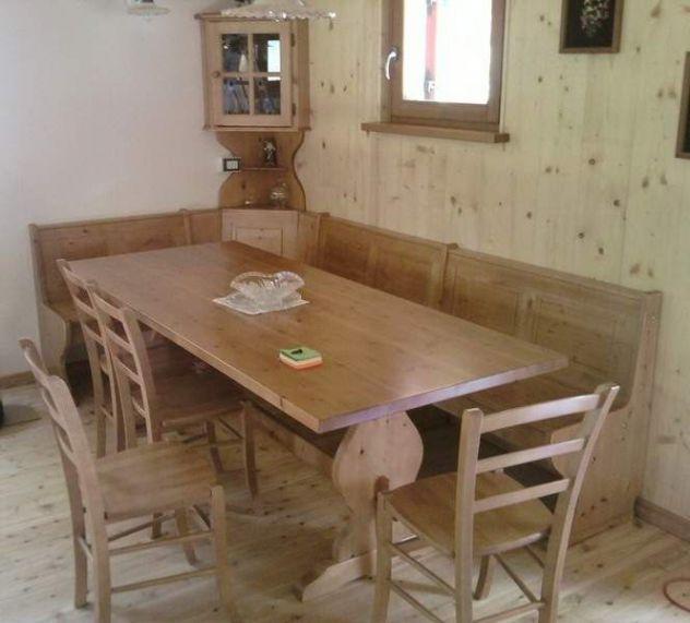 Composizione rustica per taverna cod 122 nocciola