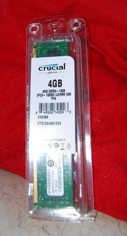 banco memoria Crucial 4GB