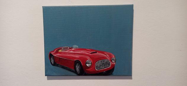 Quadro Ferrari d'epoca