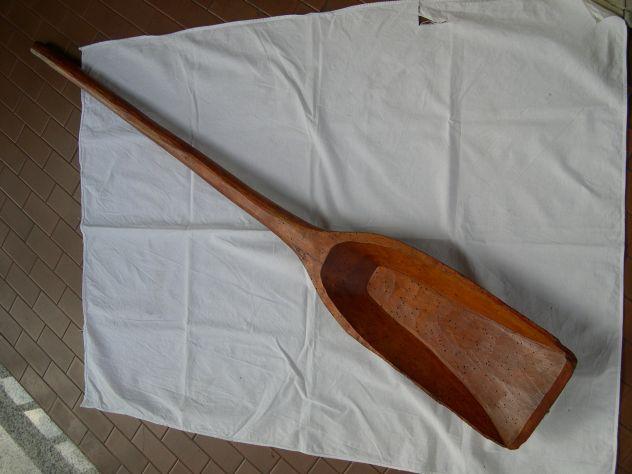 Antica pala in legno scolpito, arredamento, collezione