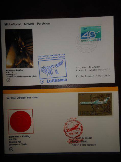 Posta aerea - LUFTHANSA - Lotto n. 2