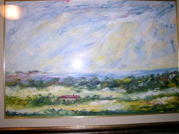 Mario Caragliu - olio su tela - paesaggio
