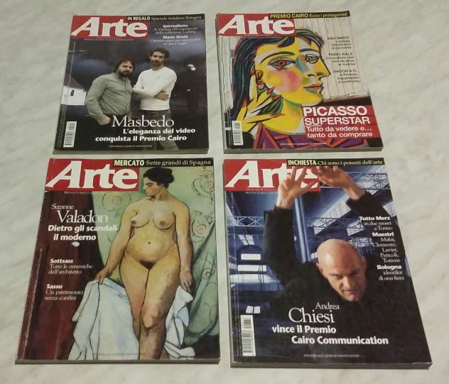 Stock 12 numeri rivista ARTE varie annate vedi la descrizione nuovo e come nuovo