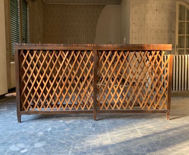 Copriradiatore in legno Vintage