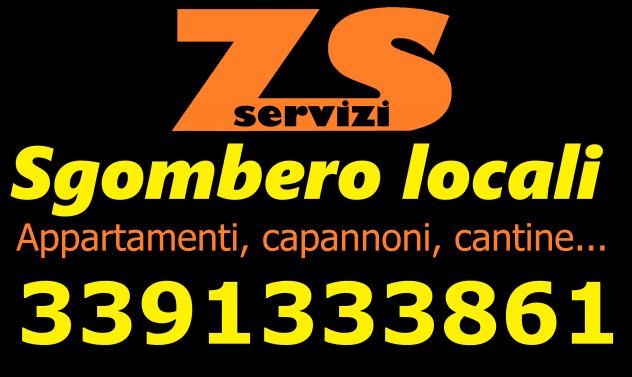 Sgombero appartamenti e locali gratis Bologna 3391333861