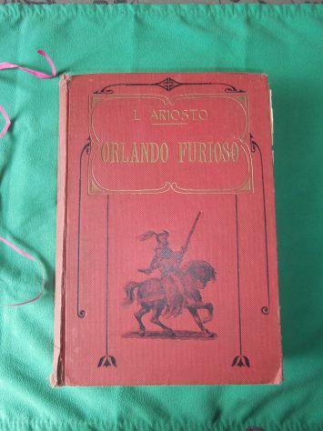 ORLANDO FURIOSO di L. Ariosto, Edizioni CARRARA, 1906