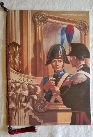 ( G&B ) Calendari: Arma dei Carabinieri 2004