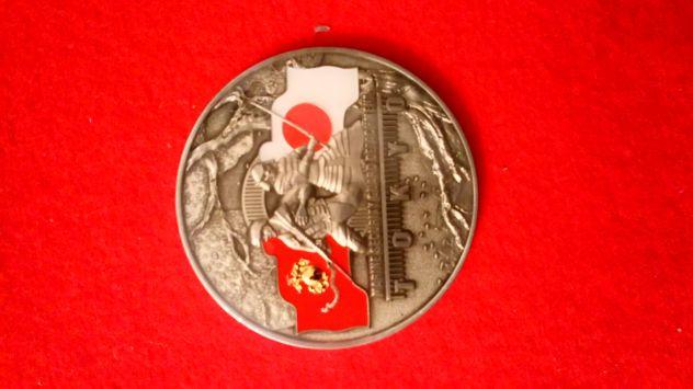 Medaglione commemorativo US Marine Corps.