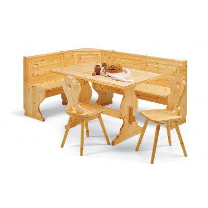 Giropanca con contenitore completamente in legno massello L 193 x 133 TINTA NAT.