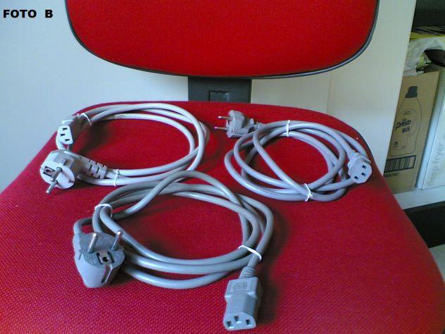 Cavi elettrici C13 / Schuko - 3 pezzi