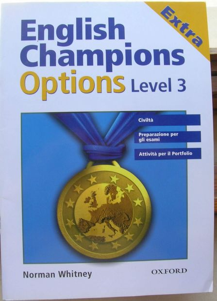 English Champions Options level 3 EXTRA con Student's cd isbn 9780194600613 …