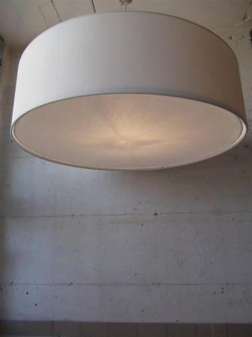 LAMPADARIO IN TESSUTO CILINDRO  IN TUTTE LE MISURE GRANDI - MAXI - Foto 8