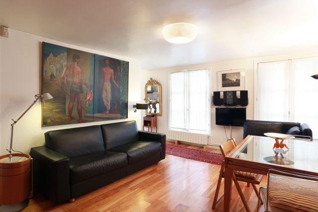Parigi centralissimo appartamento confortevole 50 mq 5 persone