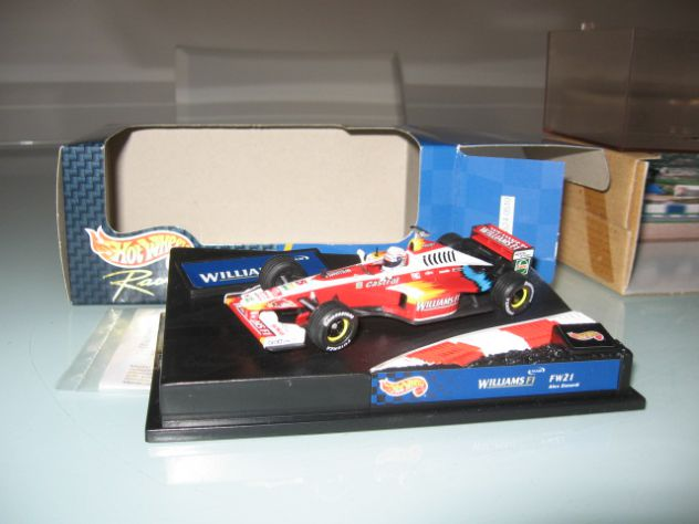 WILLIAMS FW21 ALESSANDRO ZANARDI 1:43 HOT WHEELS NUOVO!!!!