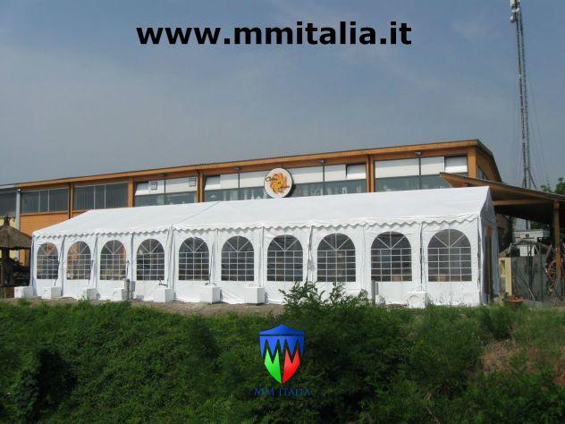 TENDONE TUNNEL PER DEPOSITO RIMESSAGGIO MAGAZZINO 8 X 24 Metri - Foto 7