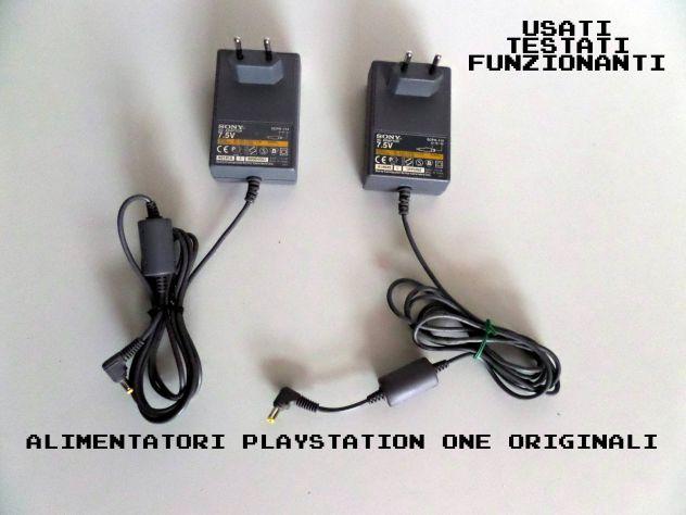 Alimentatore Playstation ONE ORIGINALE - FUNZIONANTE