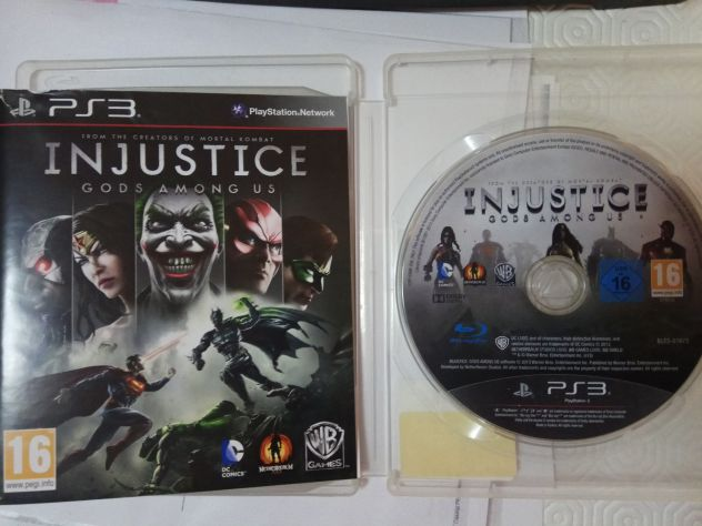 Sony Playstation 3 PS3 Injustice pal ita usato  Mendicino