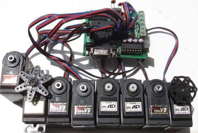 Micro-GT mini scheda programmazione PIC 16F876A