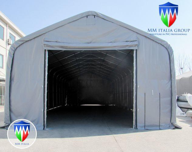 Tunnel Tendoni Professionli 8 x 18 x 4,40 Pvc Ignifugo MM Italia - Foto 6